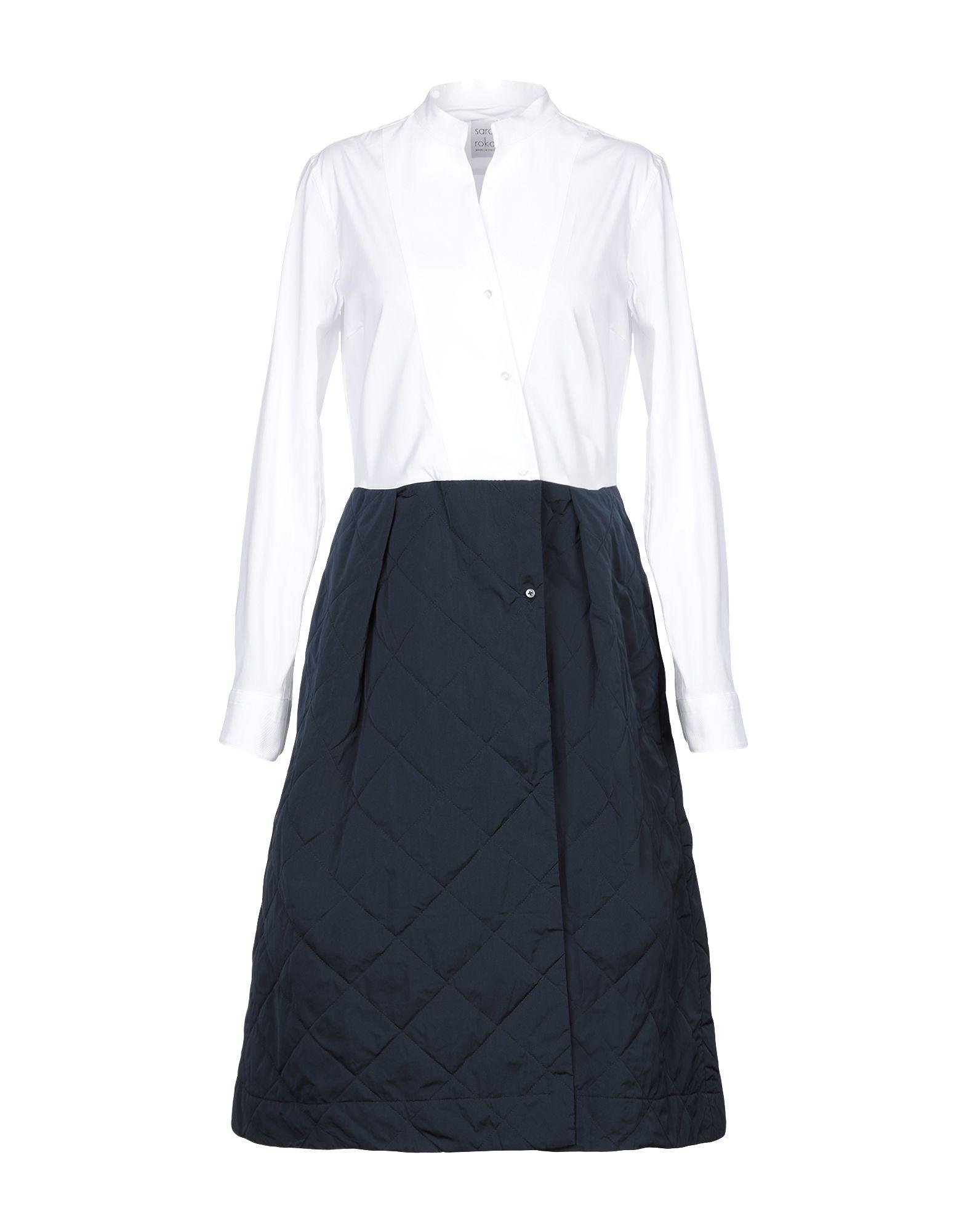 SARA ROKA Платье до колена sara roka pубашка