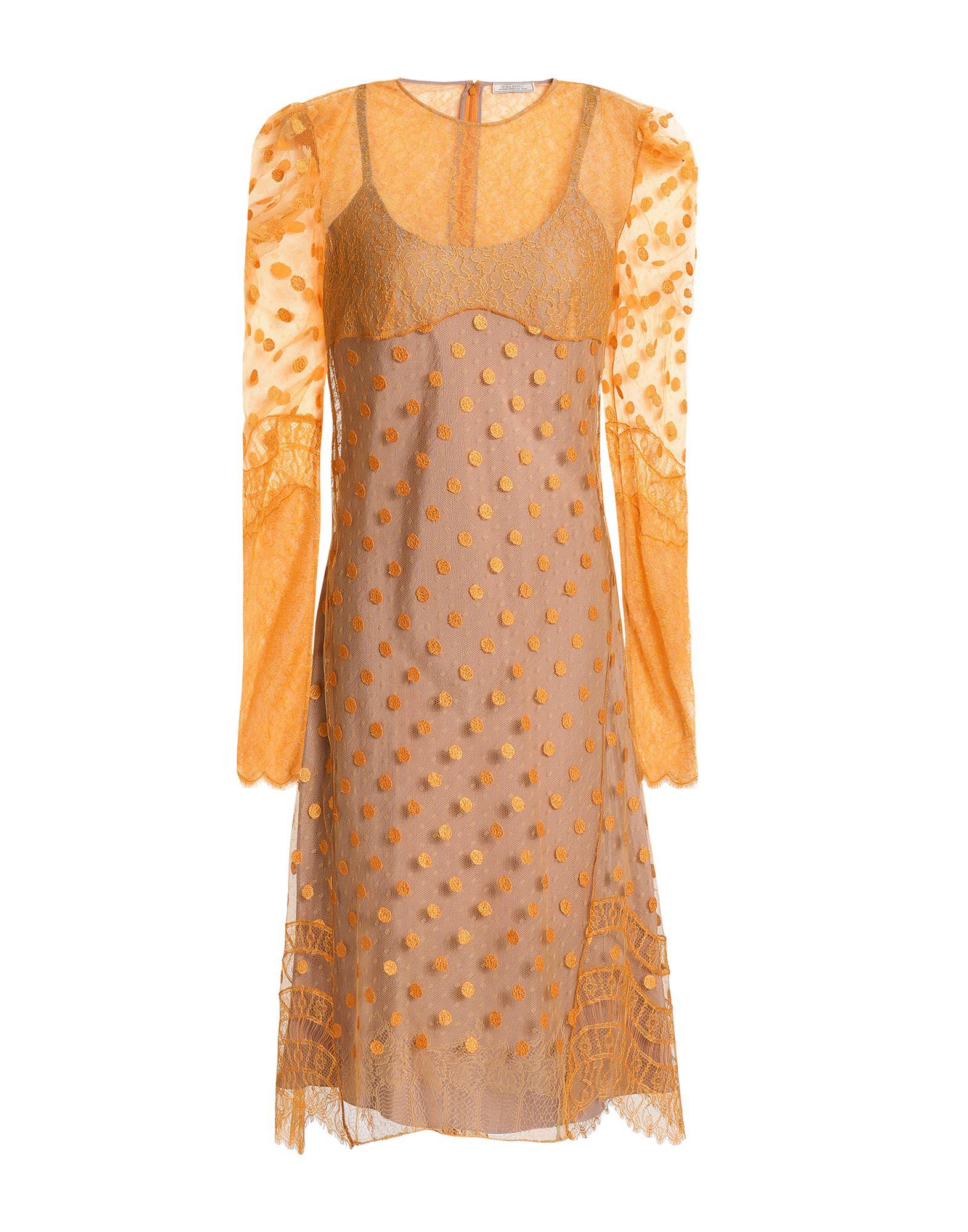 NINA RICCI Платье до колена платье с поясом nina ricci
