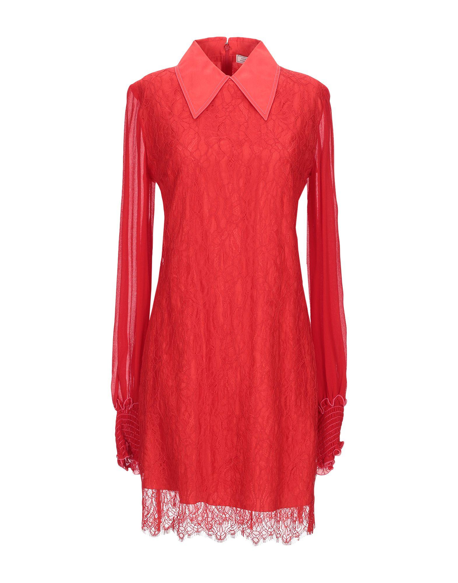 NINA RICCI Короткое платье платье с поясом nina ricci