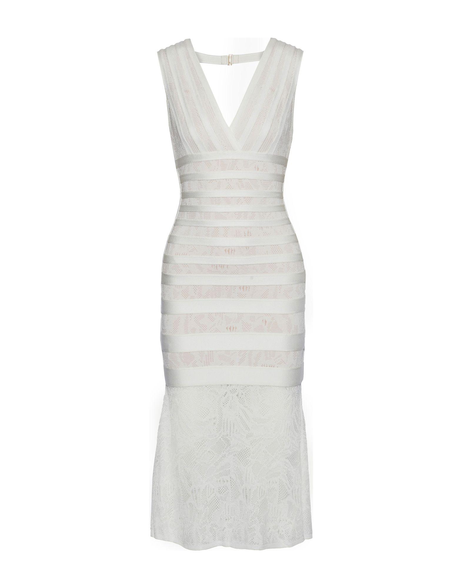 цены на HERVÉ LÉGER Платье до колена  в интернет-магазинах