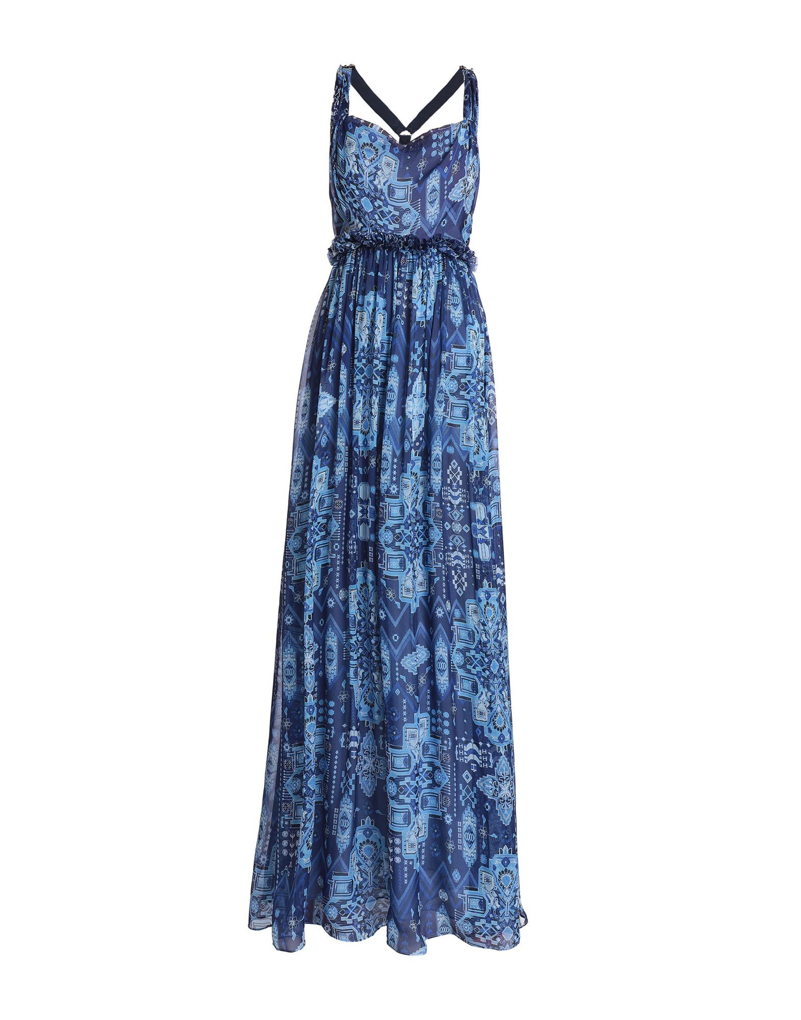 цена MATTHEW WILLIAMSON Длинное платье онлайн в 2017 году