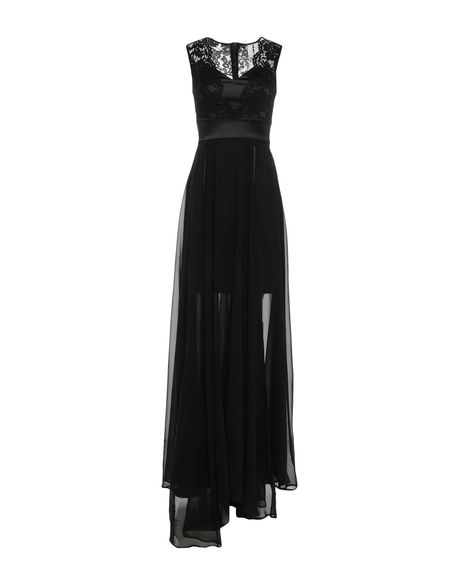 MY SECRET BLACK DRESS Длинное платье