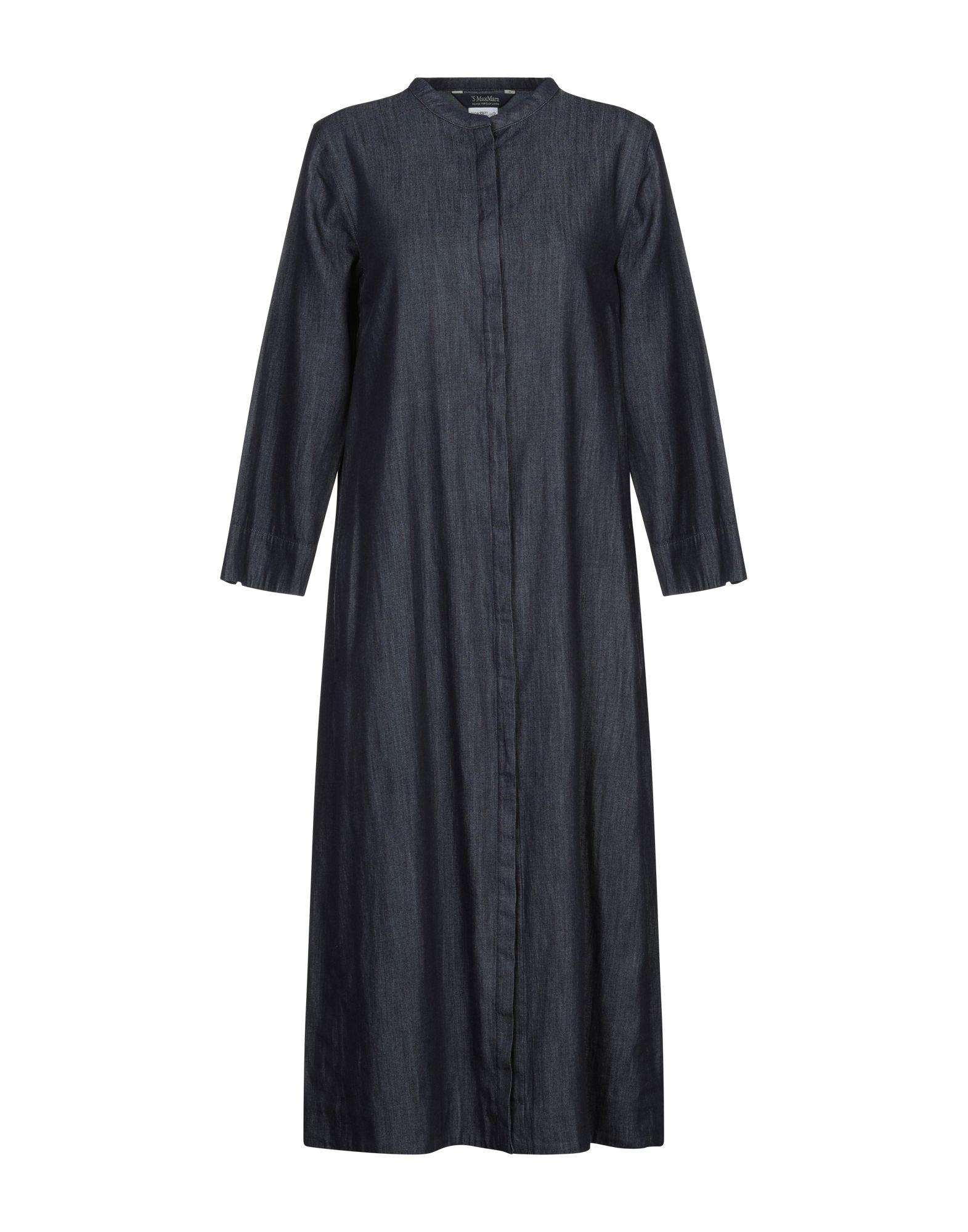 'S MAX MARA Платье длиной 3/4 max mara юбка длиной 3 4
