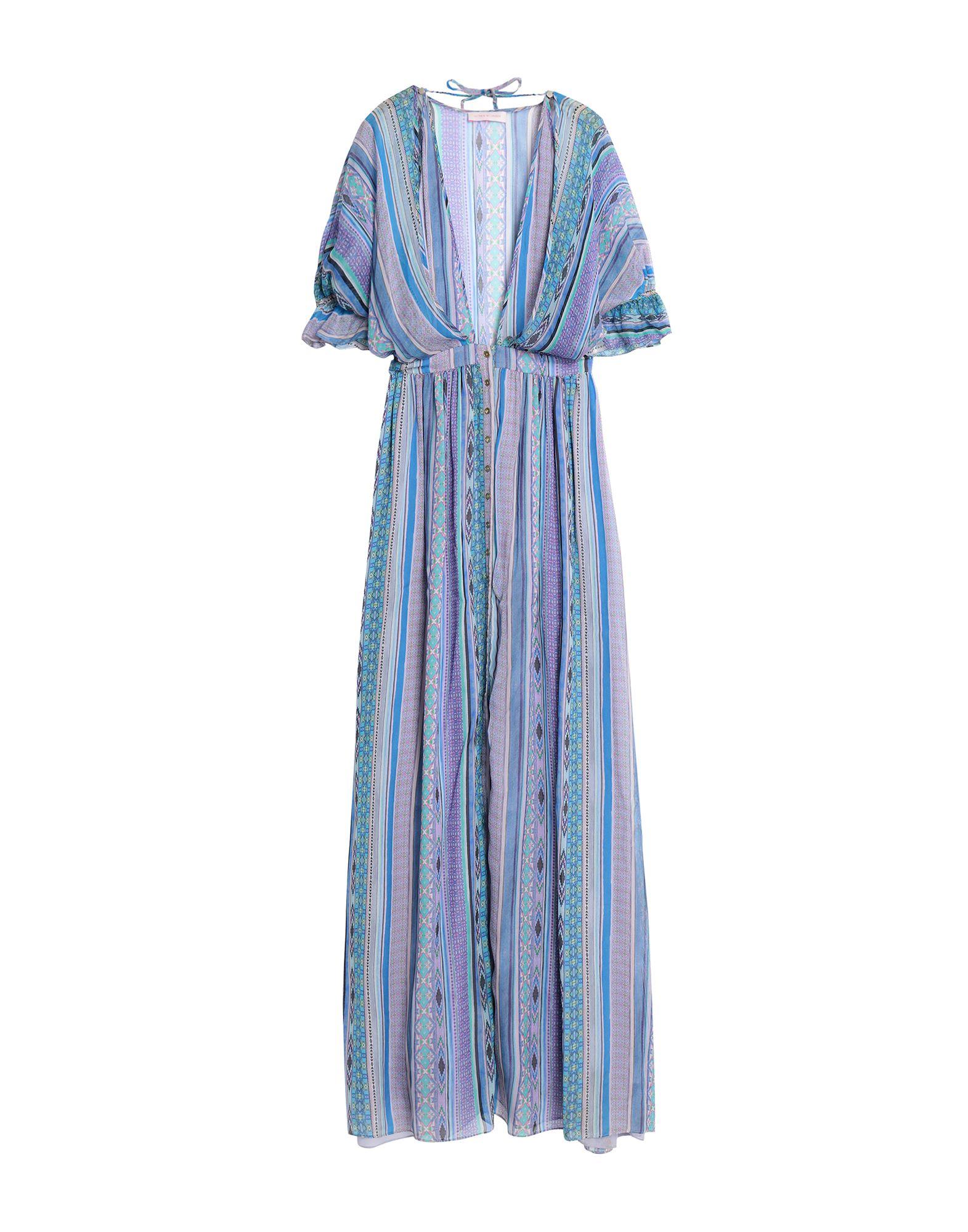 MATTHEW WILLIAMSON Длинное платье mattenew williamson matthew williamson крем для тела 200 мл
