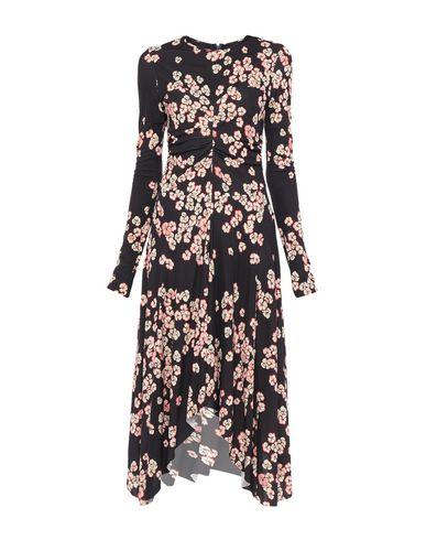 Фото - Платье длиной 3/4 темно-фиолетового цвета