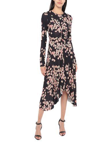 Фото 2 - Платье длиной 3/4 темно-фиолетового цвета
