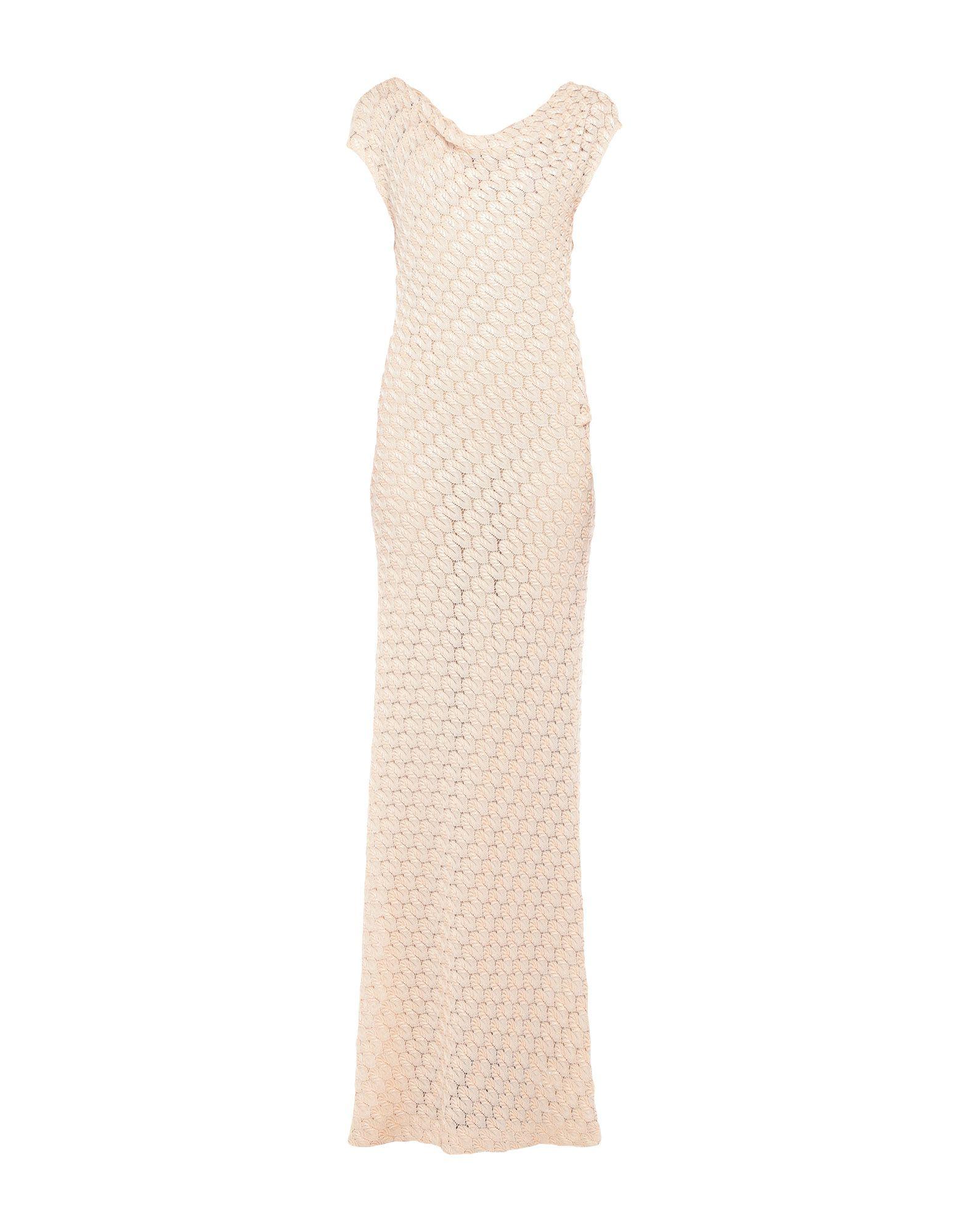 MISSONI Длинное платье ткань missoni трикотаж линия