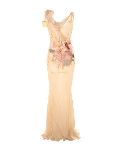 Длинное платье John Galliano