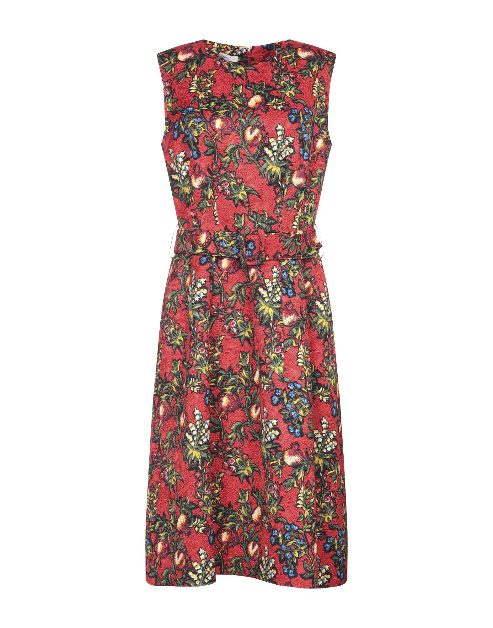 OSCAR DE LA RENTA Платье длиной 3/4 недорго, оригинальная цена