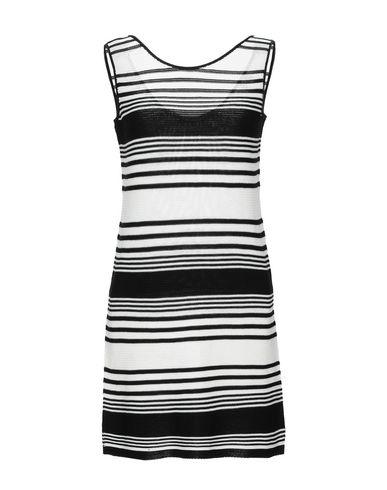 Купить Женское короткое платье BLUE LES COPAINS черного цвета