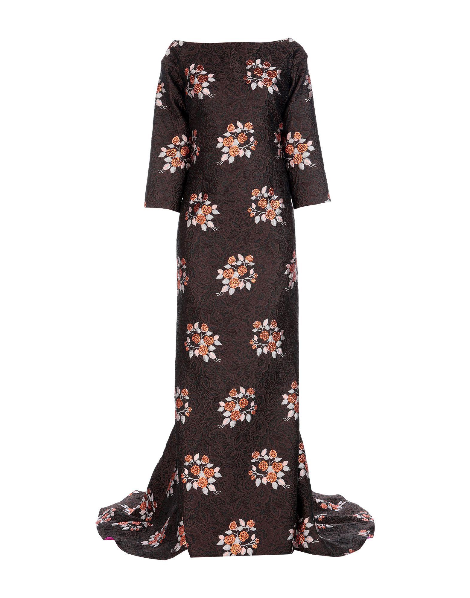 IVAN MONTESI Длинное платье ivan montesi длинное платье