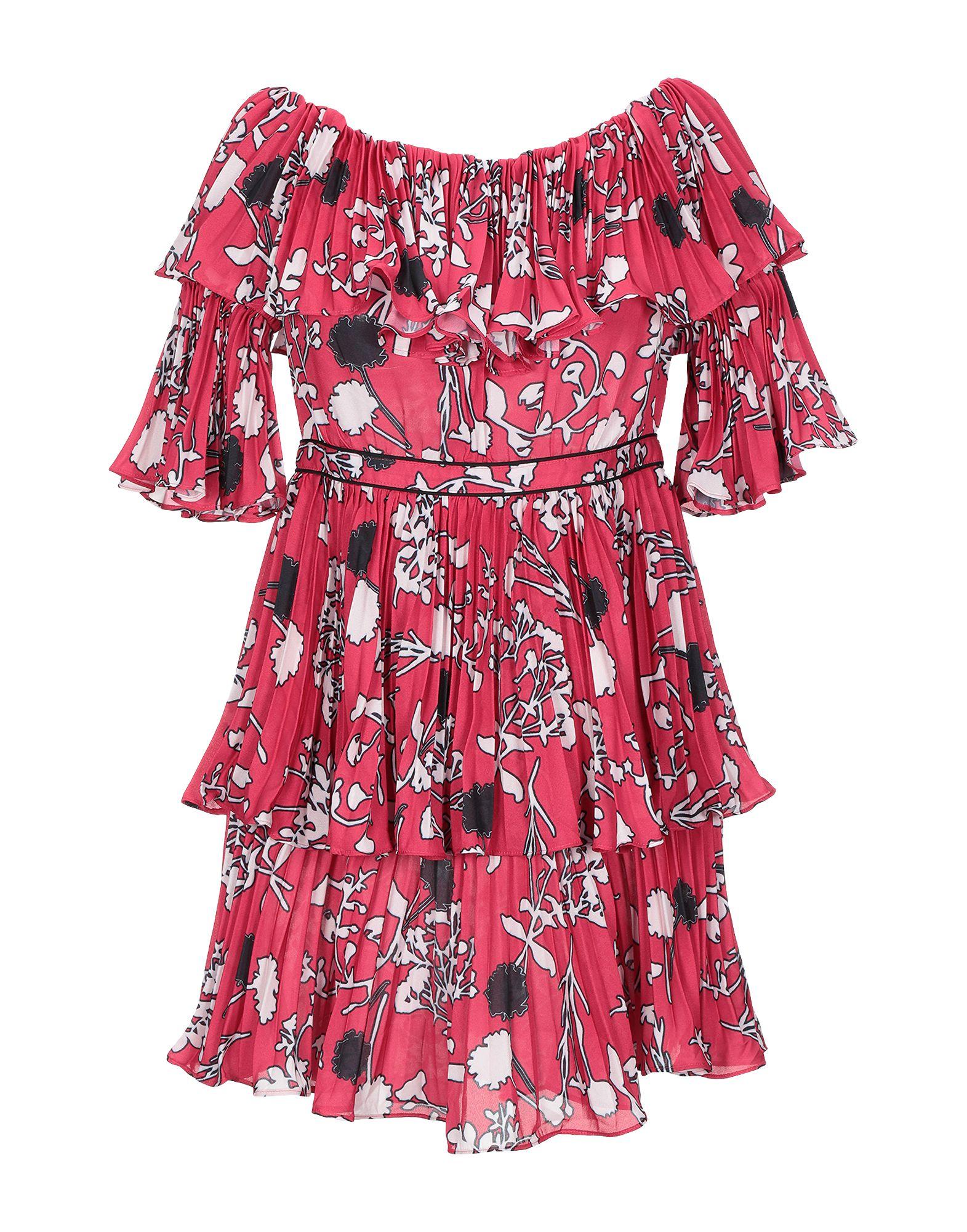 Фото - SELF-PORTRAIT Короткое платье self portrait короткое красное платье