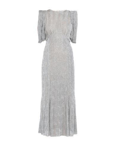 Фото - Женское длинное платье  серебристого цвета