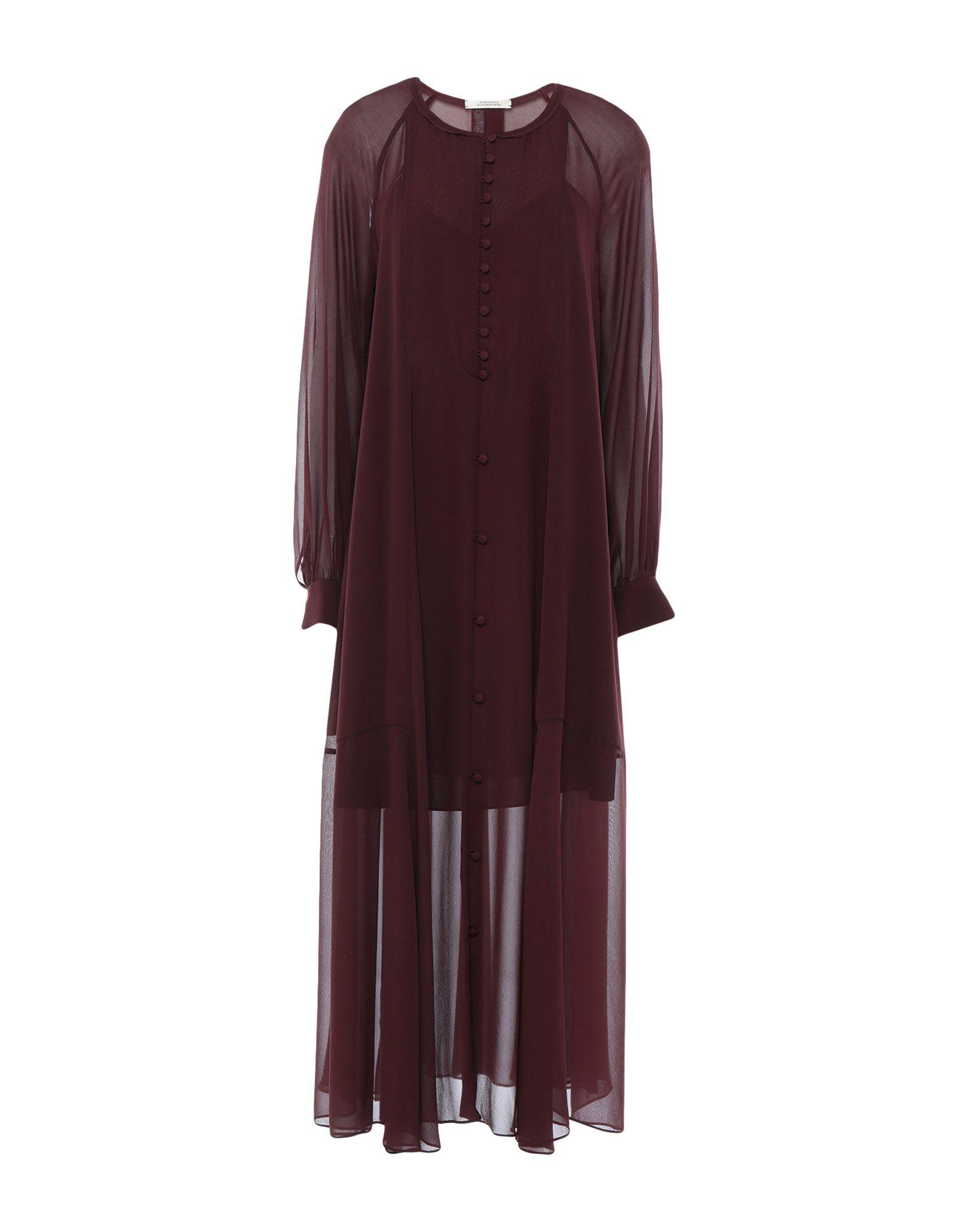 DOROTHEE SCHUMACHER Платье длиной 3/4 dorothee schumacher юбка длиной 3 4