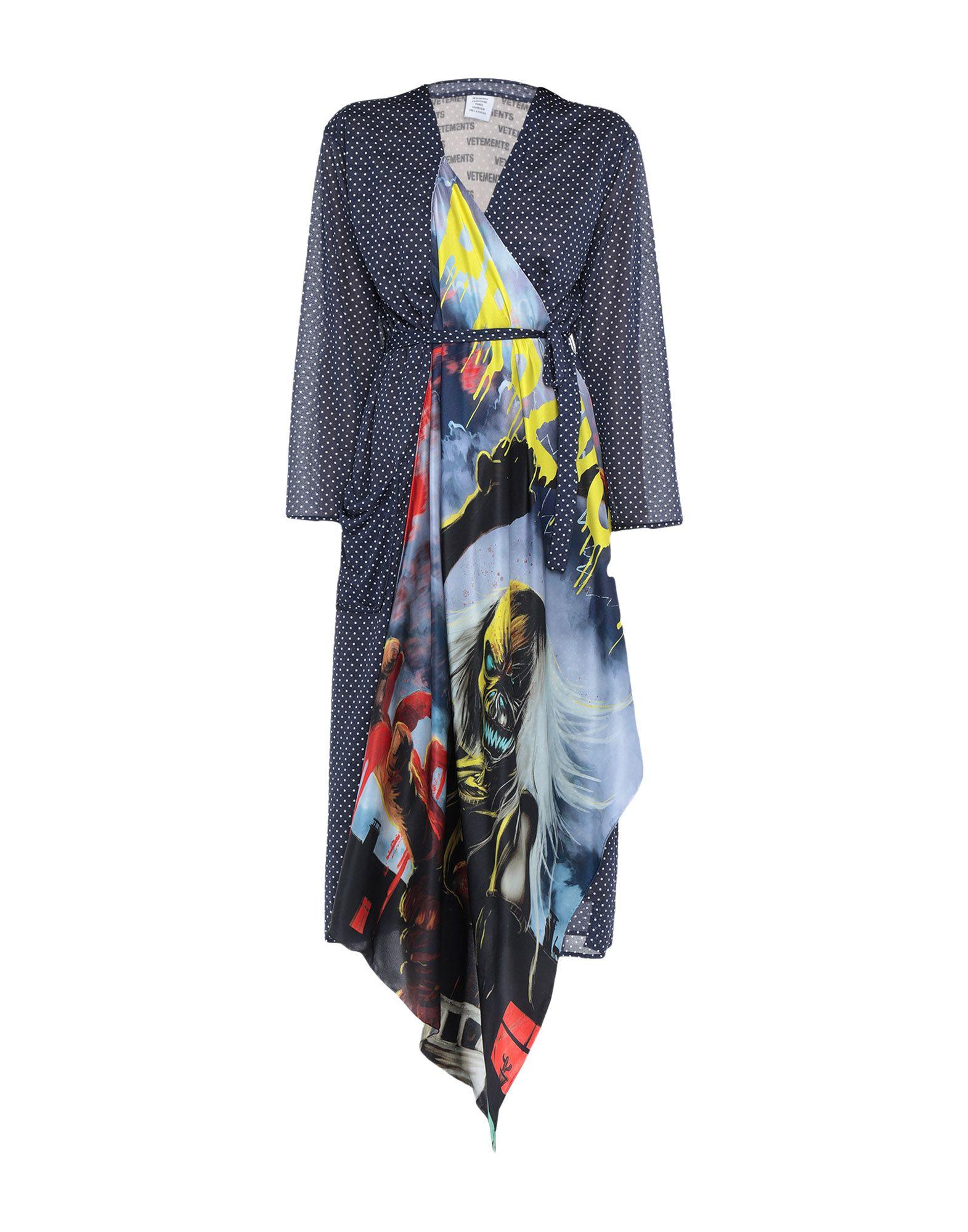 VETEMENTS Платье длиной 3/4 vetements ремень