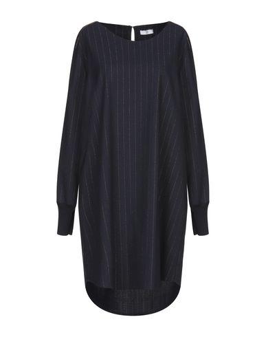 Купить Женское короткое платье SFIZIO темно-синего цвета