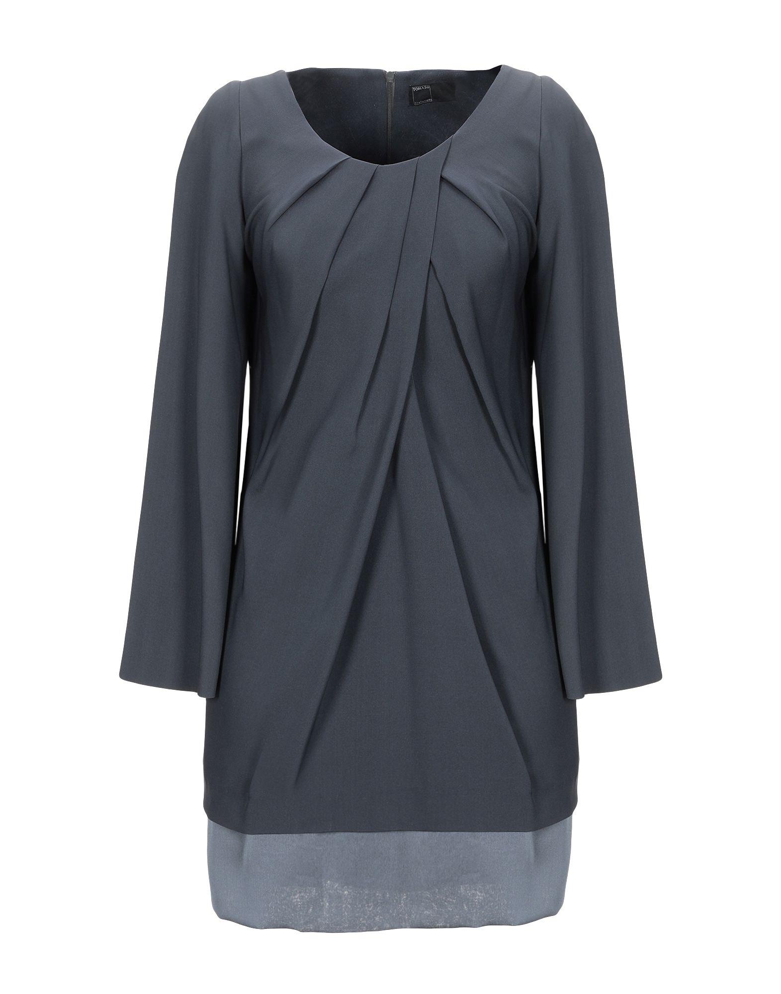 TOMASO STEFANELLI Короткое платье tomaso stefanelli пальто