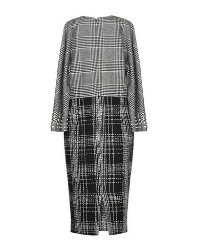 Фото 2 - Платье длиной 3/4 от FONTANA COUTURE черного цвета