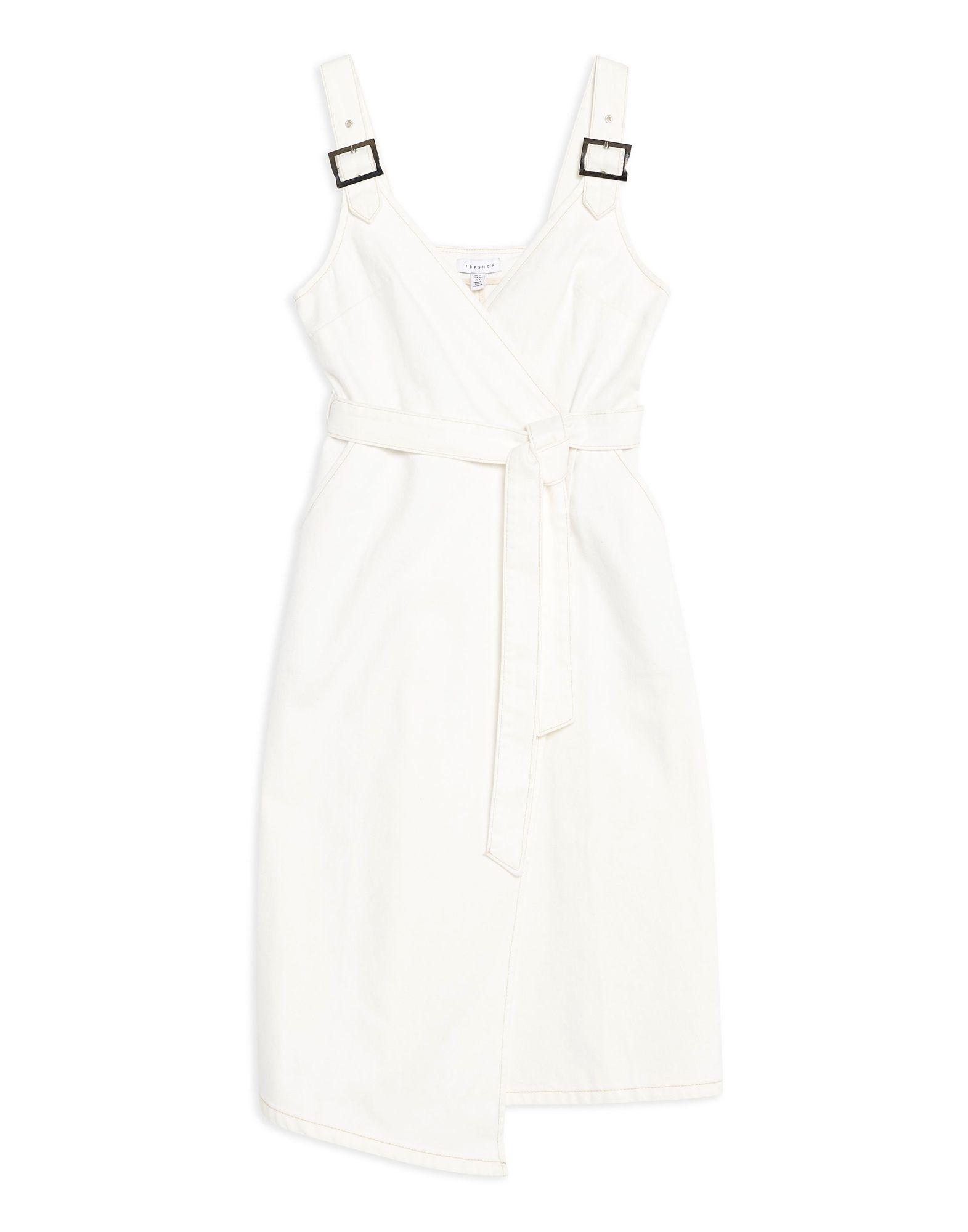 TOPSHOP Платье до колена topshop unique платье до колена
