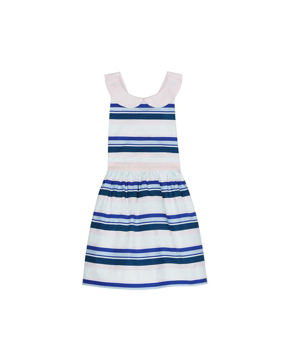STRIPED DRESS  - Lanvin