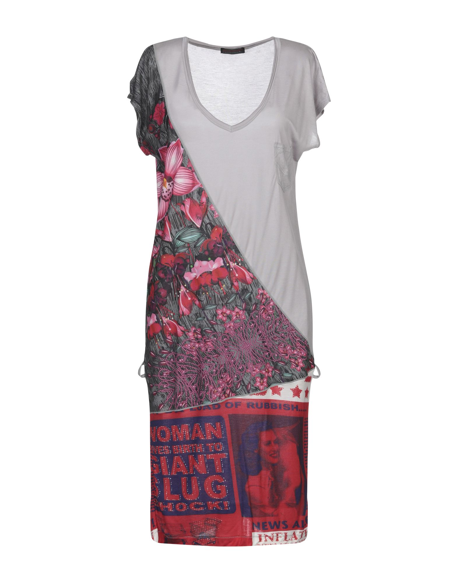 Фото - CUSTO BARCELONA Короткое платье платье custo barcelona custo barcelona cu576ewbroi8