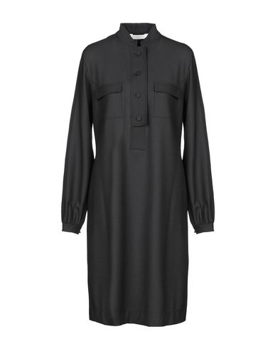 Фото - Платье до колена от GUGLIELMINOTTI черного цвета