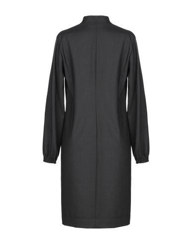 Фото 2 - Платье до колена от GUGLIELMINOTTI черного цвета