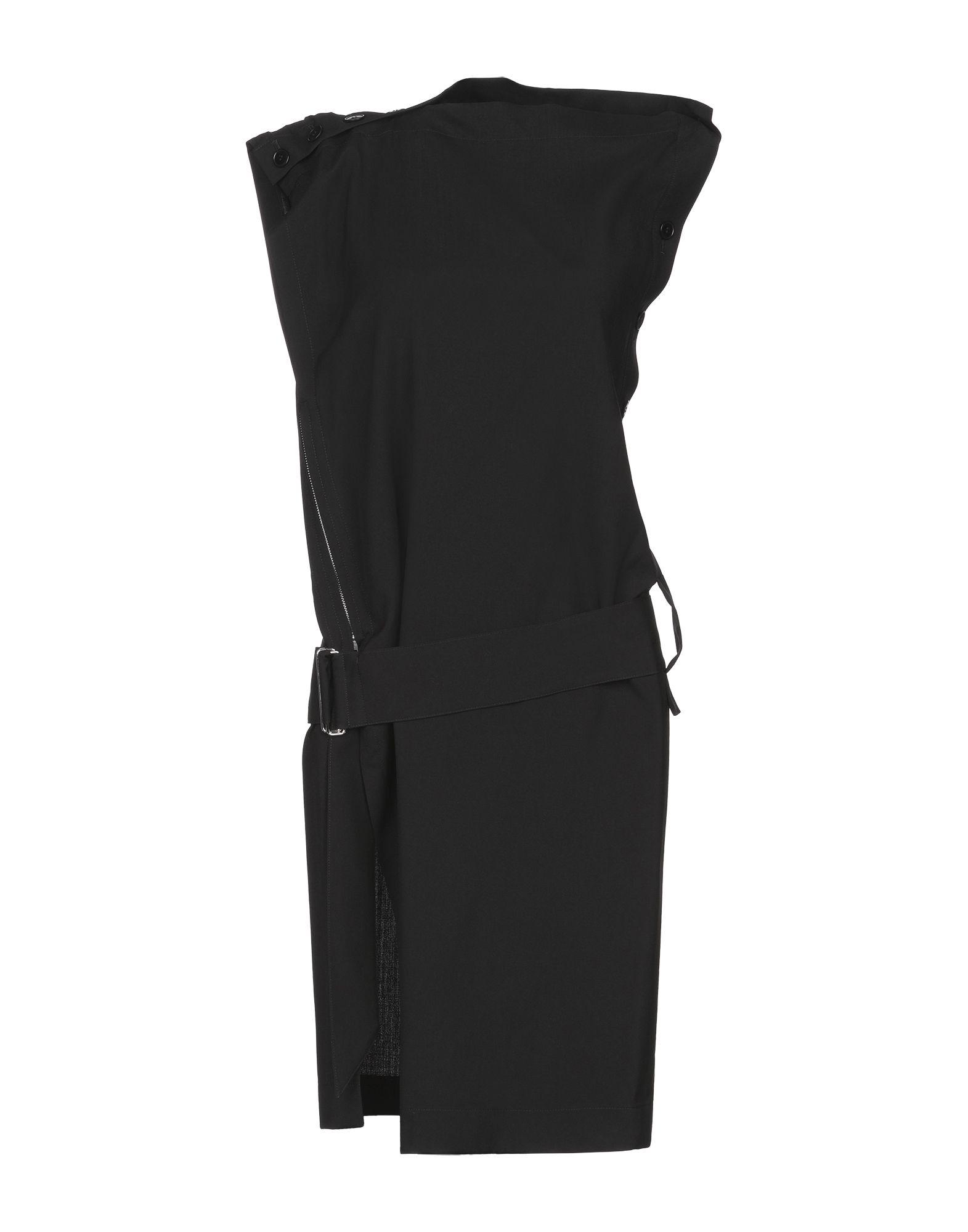 Y'S YOHJI YAMAMOTO Платье до колена цена 2017