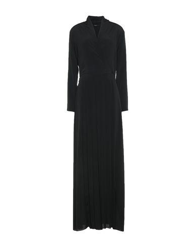 Купить Женское длинное платье CARLA G. черного цвета