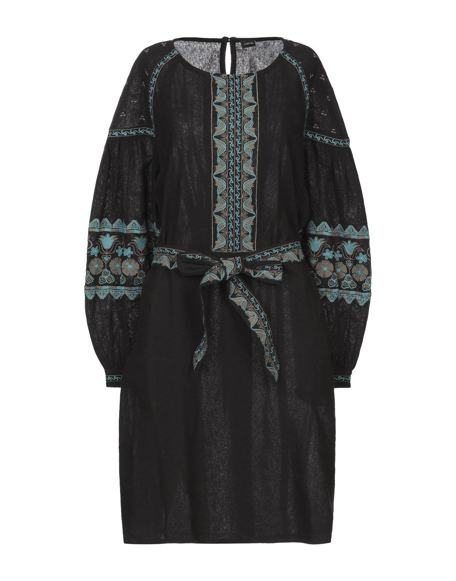 ANTIK BATIK Короткое платье antik batik сандалии