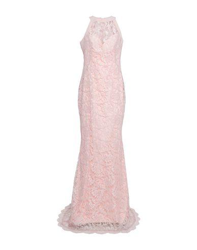 Фото - Женское длинное платье GIORGIO AJUTANTI розового цвета