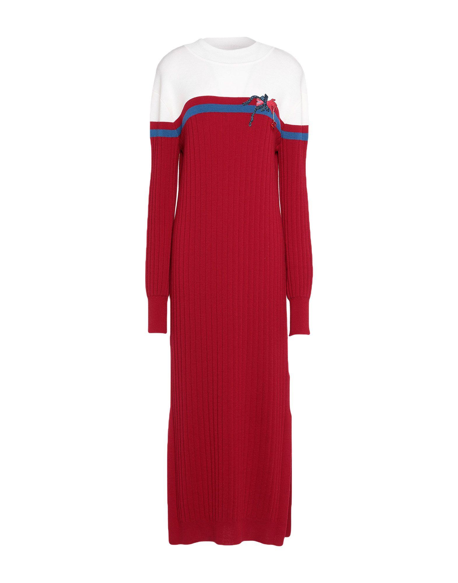 VIVETTA Длинное платье vivetta воротник