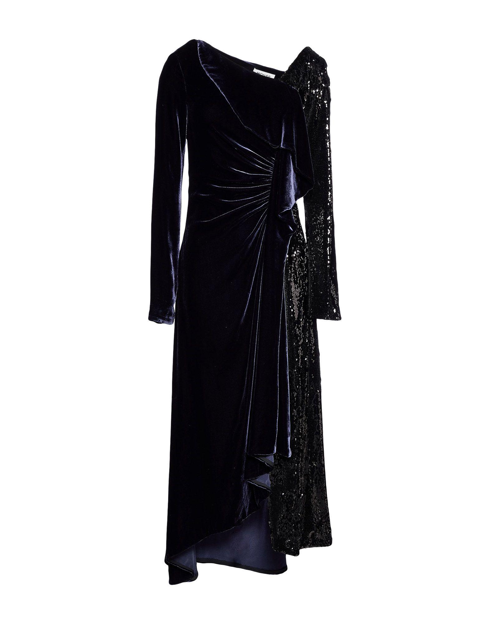 MONSE Длинное платье sexy woman длинное платье