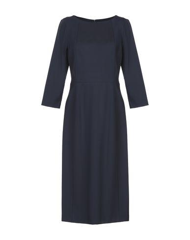 Купить Платье до колена от BLUKEY темно-синего цвета