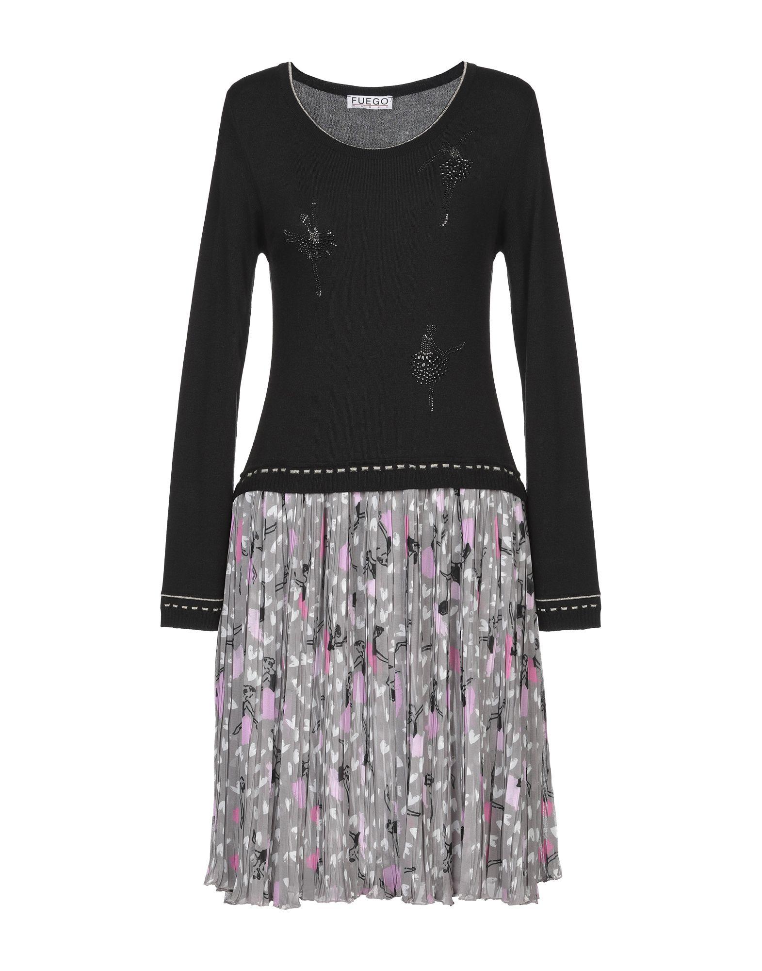 FUEGO WOMAN Короткое платье fuego woman повседневные брюки