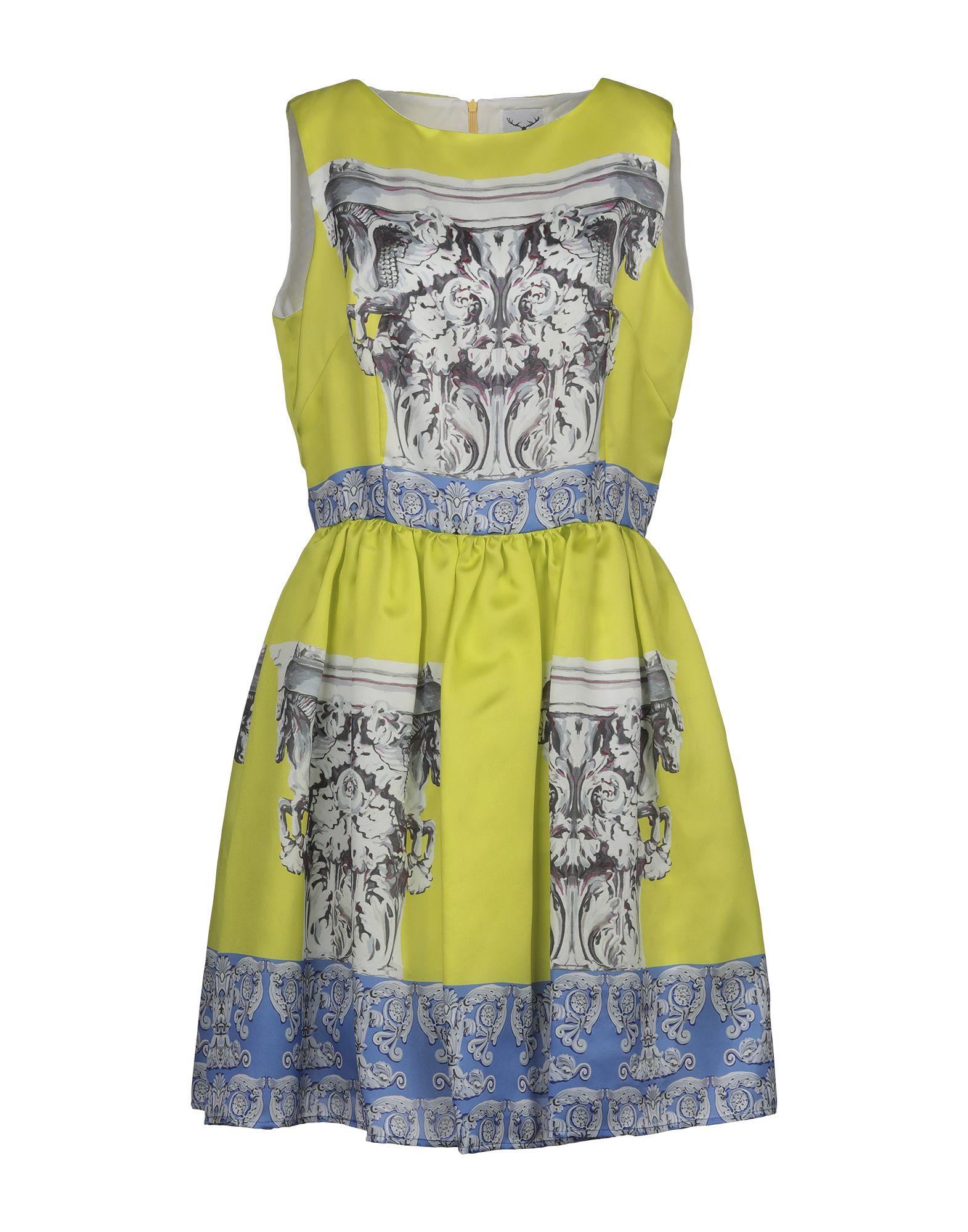 LEITMOTIV Платье до колена leitmotiv топ без рукавов