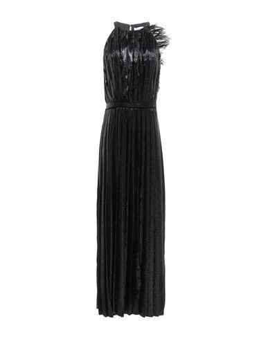 Фото - Женское длинное платье RAQUEL DINIZ черного цвета