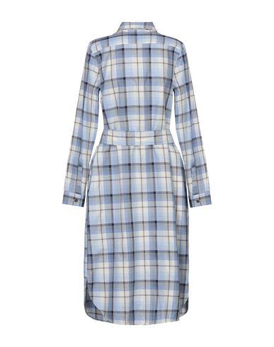 Фото 2 - Платье до колена от ZANETTI 1965 небесно-голубого цвета
