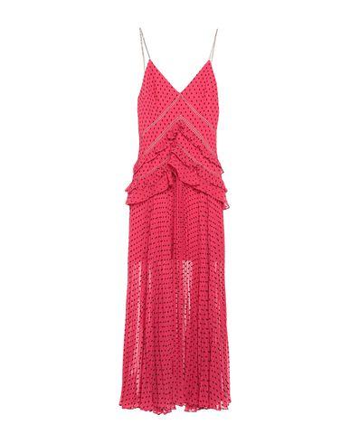 Фото - Женское длинное платье  цвета фуксия