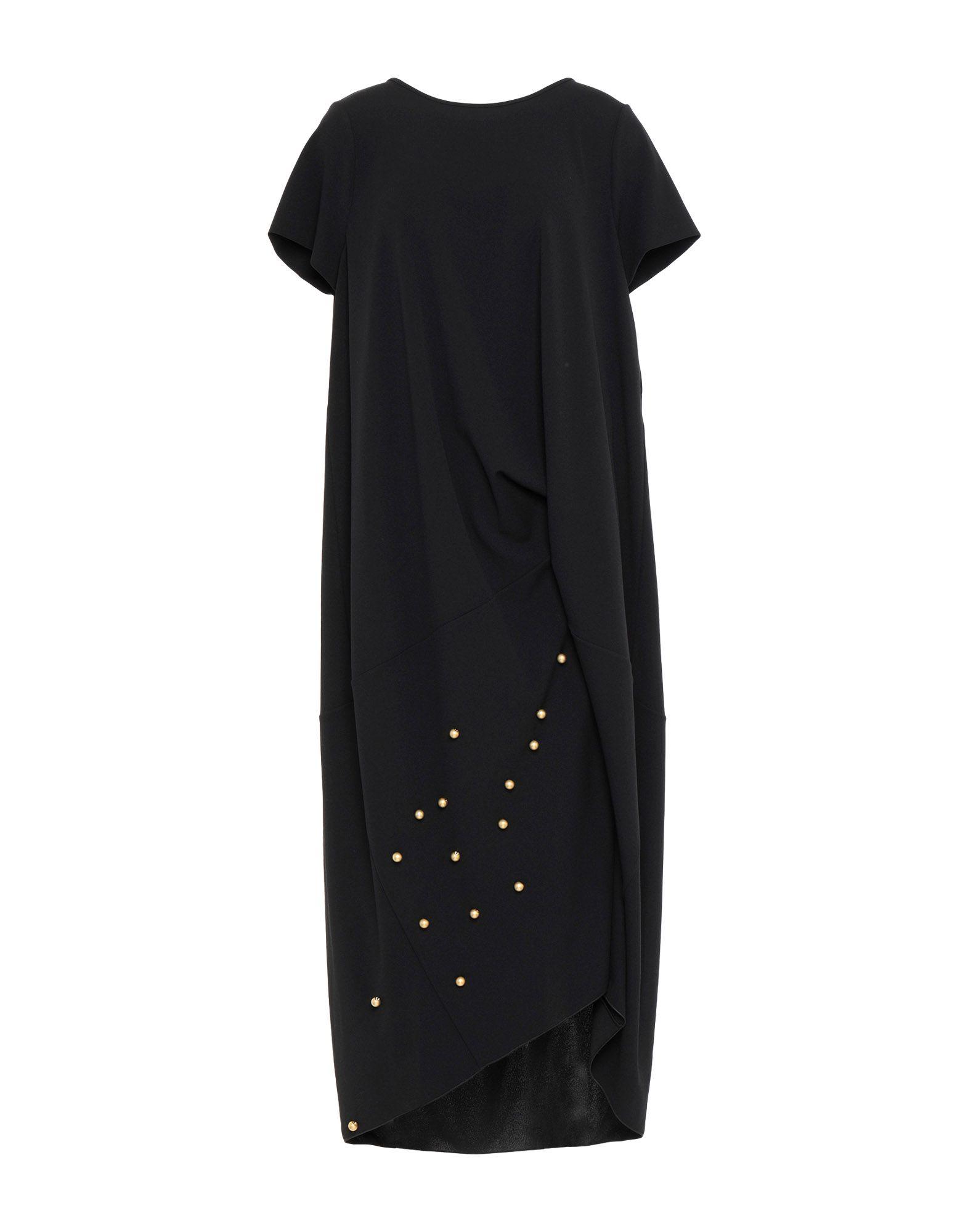 MARIA CALDERARA Платье длиной 3/4 stainless steel black bathroom ultrathin 2 mm rain shower head 8 10 12 inch wall
