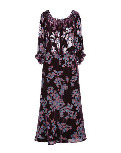 Фото 2 - Платье длиной 3/4 от SALONI цвет баклажанный