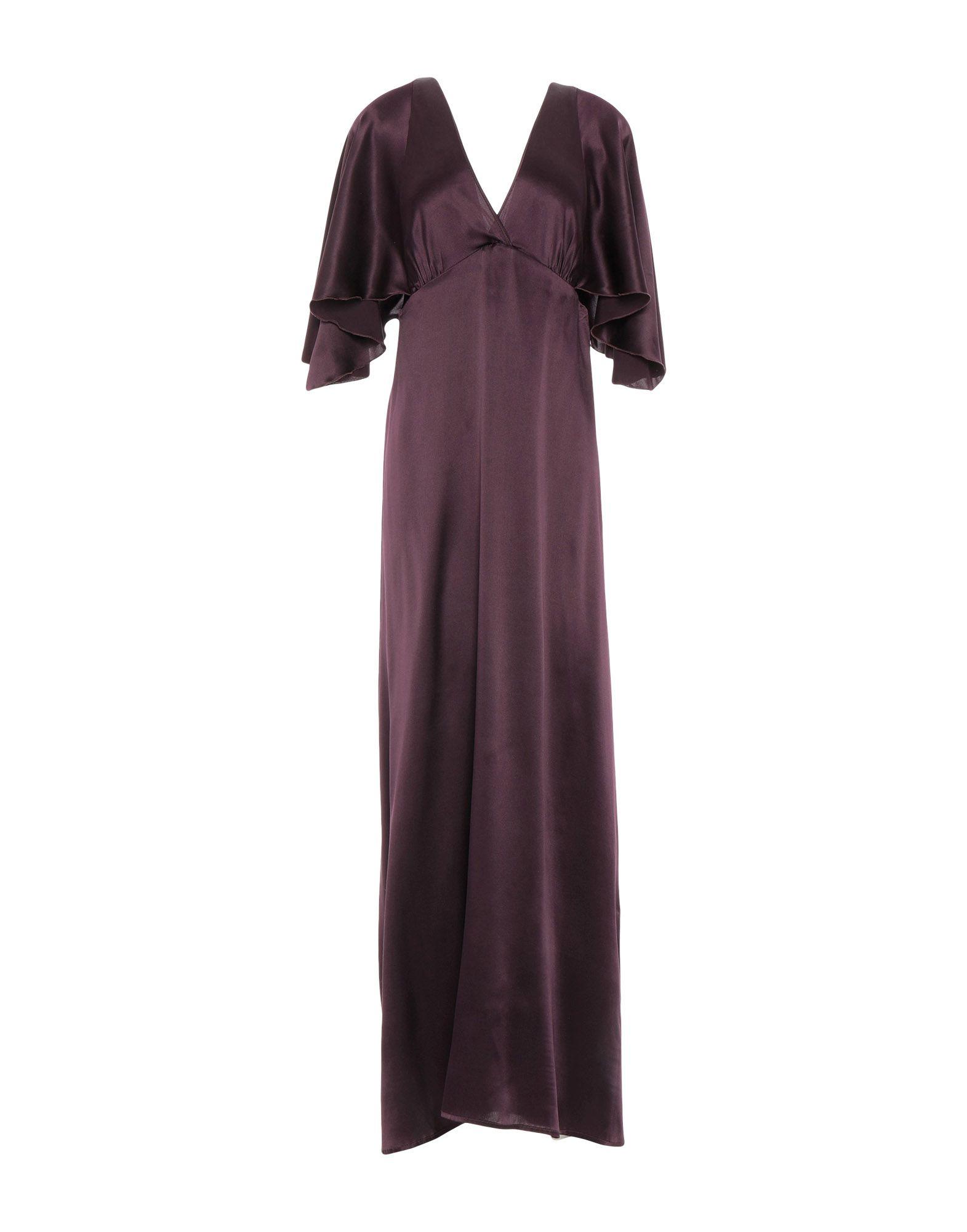 PEACOCK BLUE Длинное платье