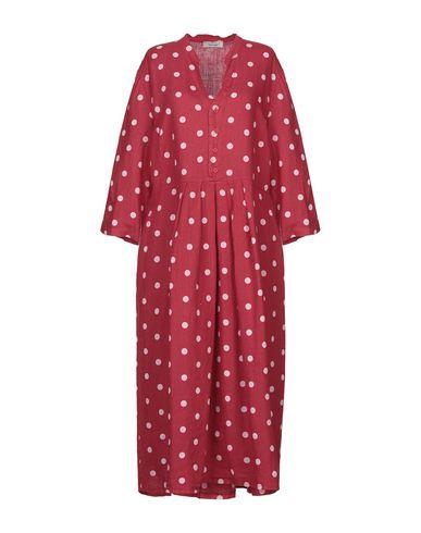 Фото - Платье длиной 3/4 от SAINT TROPEZ красного цвета