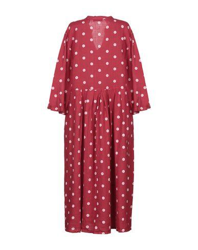 Фото 2 - Платье длиной 3/4 от SAINT TROPEZ красного цвета