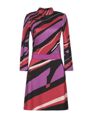 Фото - Женское короткое платье  фиолетового цвета
