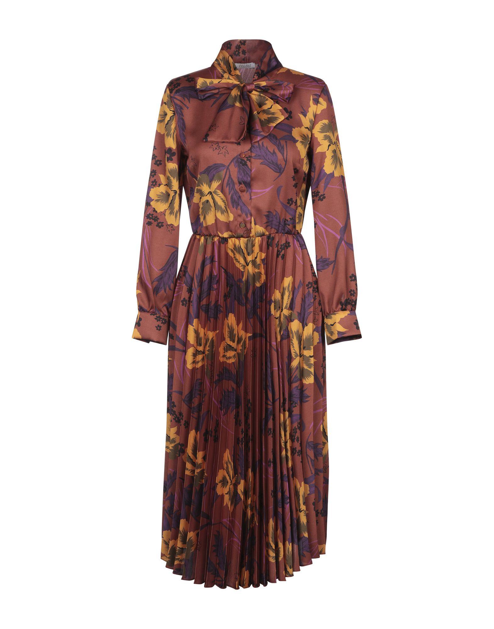 MOTEL Платье длиной 3/4 motel юбка длиной 3 4