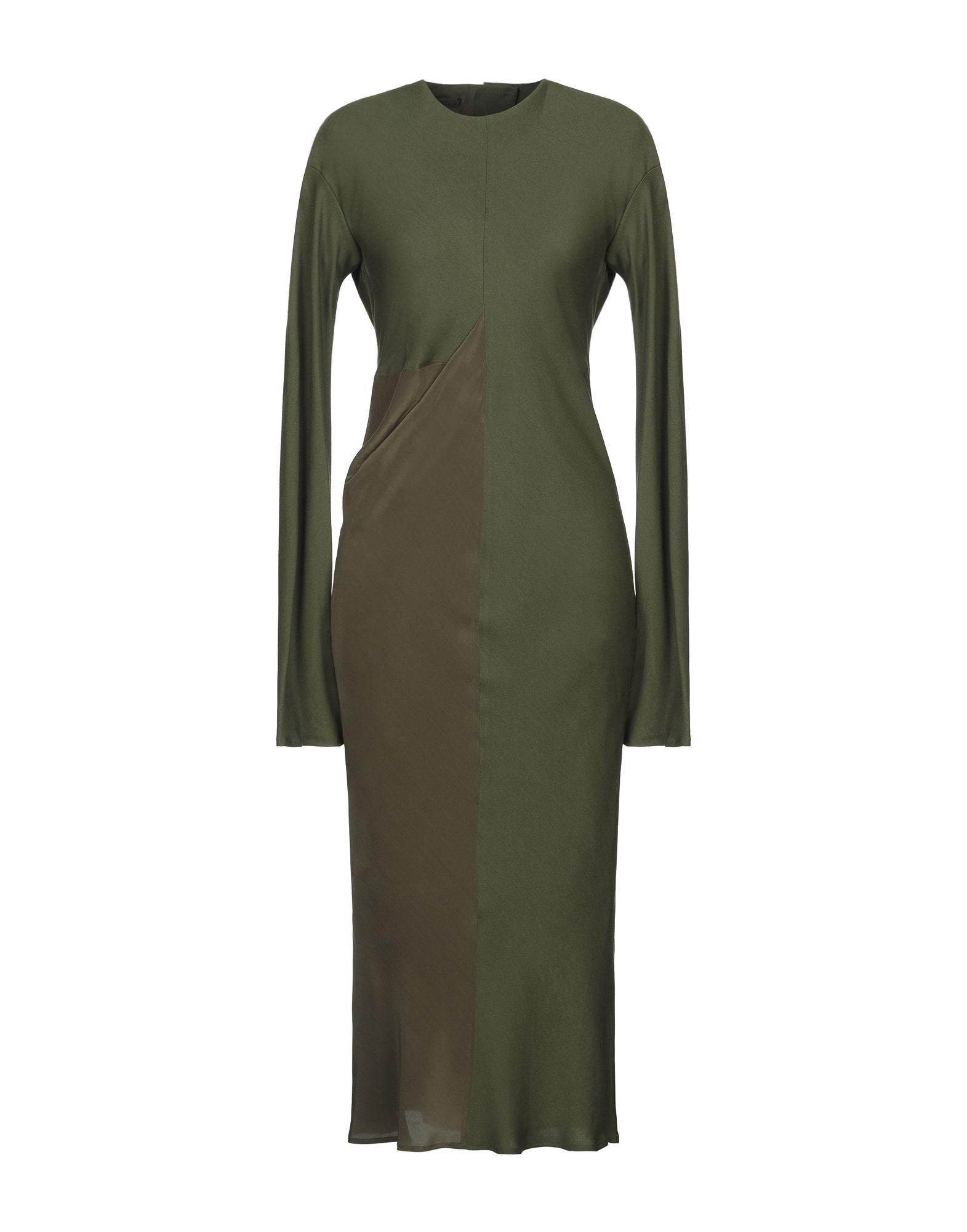 HAIDER ACKERMANN Платье длиной 3/4 цены онлайн