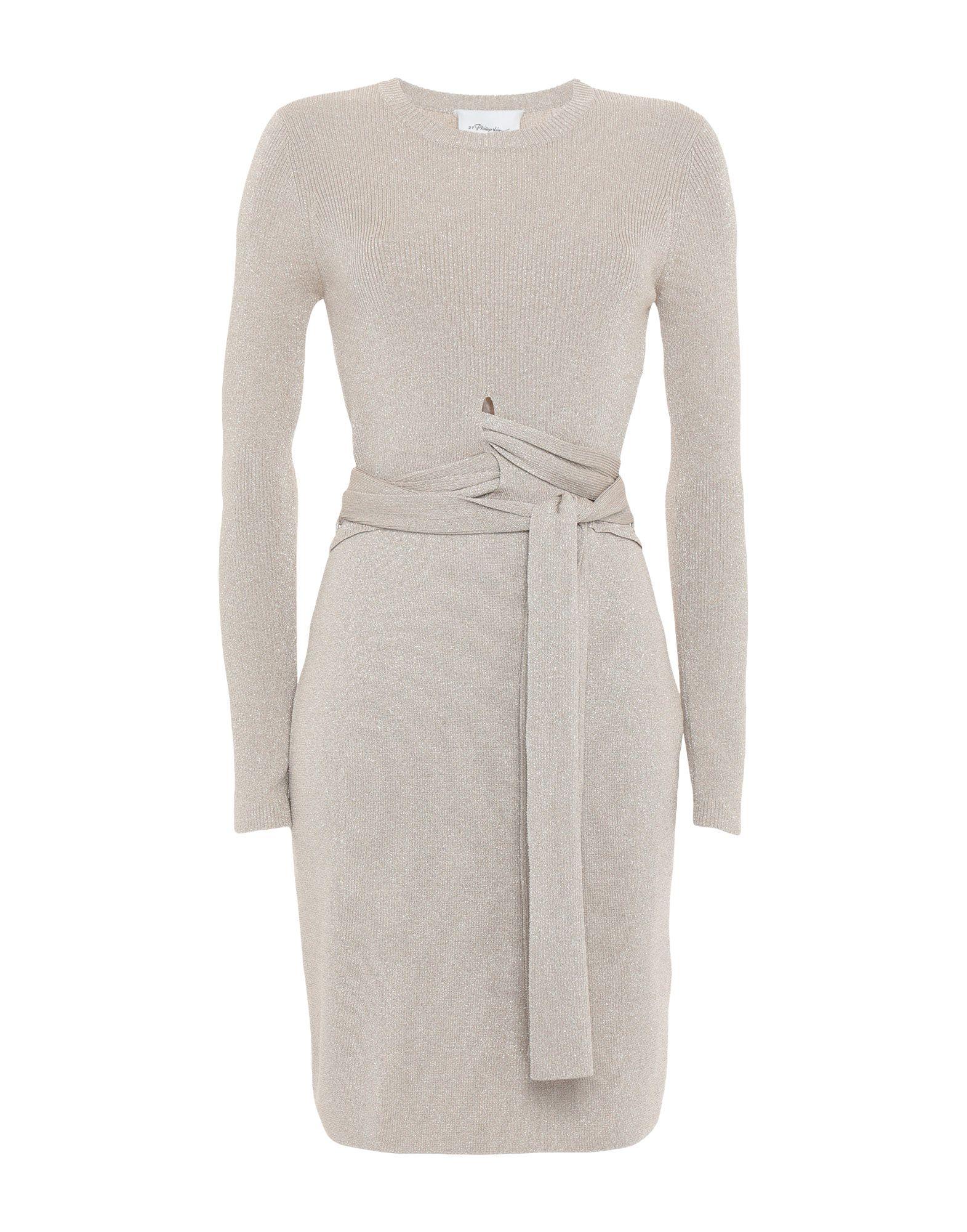3.1 PHILLIP LIM Короткое платье 3 1 phillip lim платье рубашка с цветочной отделкой