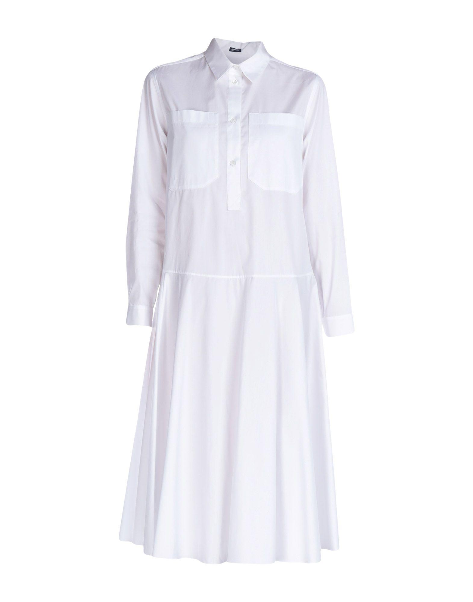 JIL SANDER NAVY Платье длиной 3/4 jil sander navy платье длиной 3 4