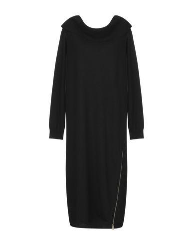 Фото - Платье до колена от TWINSET черного цвета